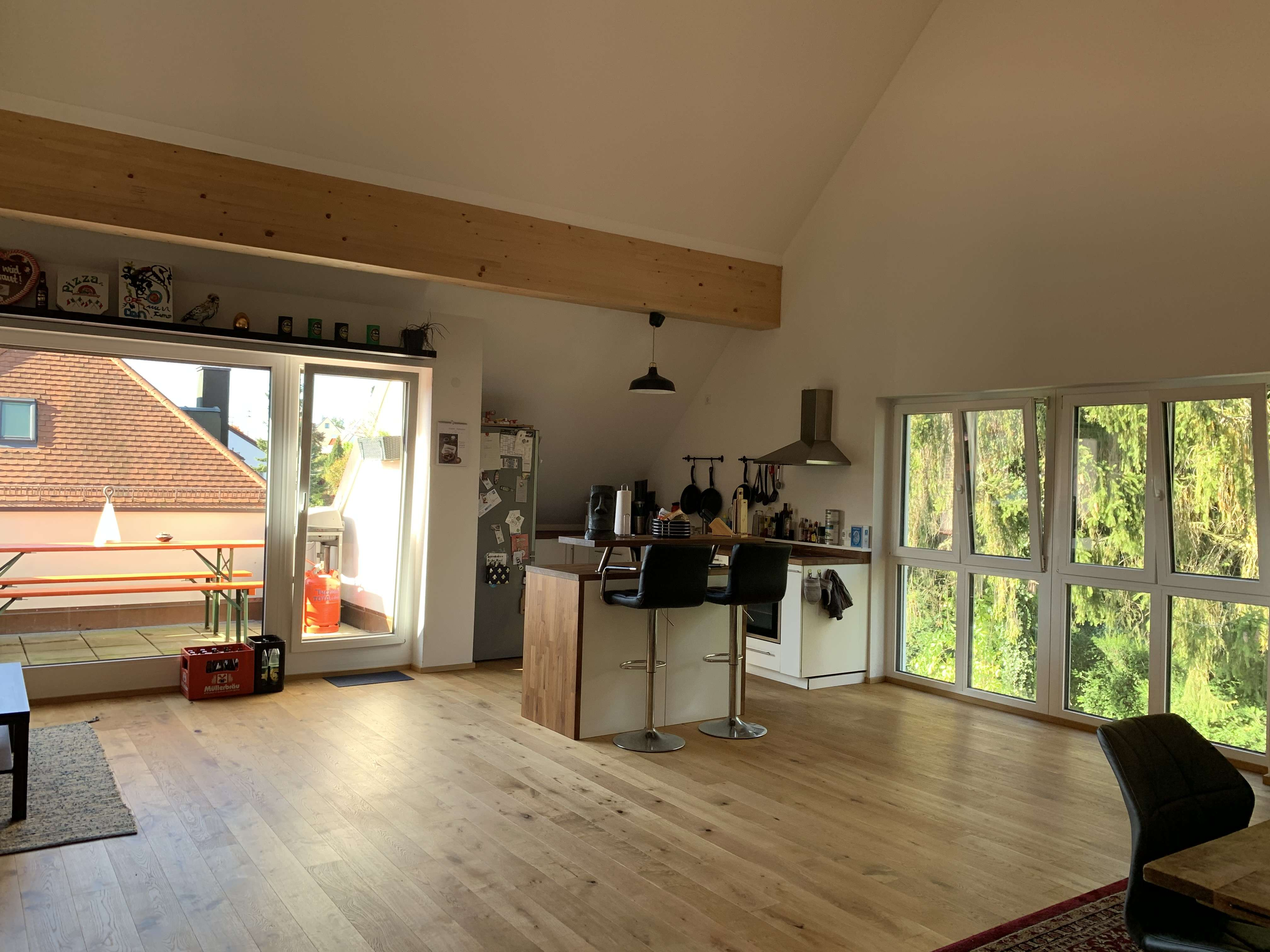 * Helle 5-Zimmer Maisonettewohnung im Zentrum in KFW-55 Effizienzhaus * in Pfaffenhofen an der Ilm