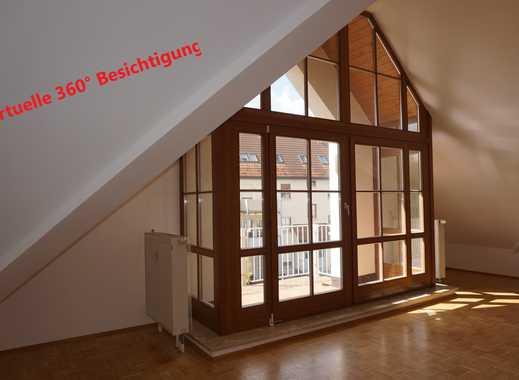 Frei ab sofort! Schöne 4-Zimmer Atelierwohnung im DG eines Mehrfamilienhauses zu vermieten!