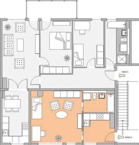 Exklusive, neuwertige 1,5-Zimmer-Wohnung mit EBK in Laim, München in Laim (München)
