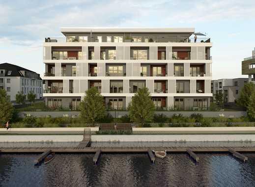 Leben im grünen direkt am Wasser - 2-Zimmer-Wohnung auf ca. 72 m² mit Loggia