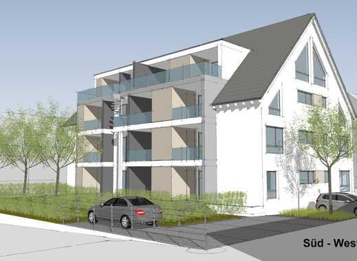 Erstbezug! 2-Zimmer-Erdgeschosswohnung mit zwei Terrassen, Gartenanteil und PKW-Außenstellplatz!