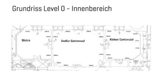 Grundriss Level 0 - Innenberei