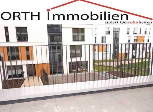 Innenstadt - 3 Zimmer Neubauwohnung mit EBK u. großer Sonnenterrasse