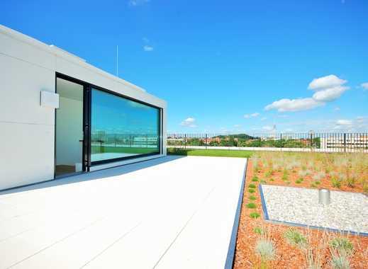 2 Zimmer Penthouse mit Dachterrasse und Einbauküche, 2 Bäder, München Schwabing Top Lage