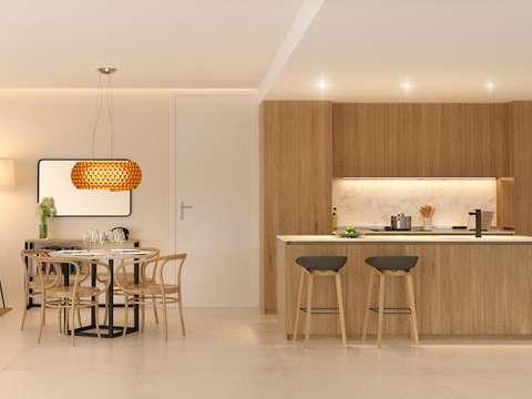Design Neubau Wohnungen und Penthäuser im Zentrum von Palma