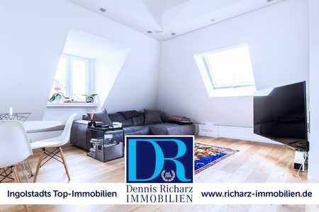 Exklusive Loft-/Penthouse-Wohnung im Alten Westviertel mit eigenem Aufzug direkt in die Wohnung in Mitte (Ingolstadt)