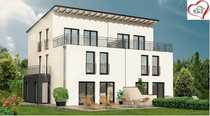 Projektierte Doppelhaushälfte zum mitplanen