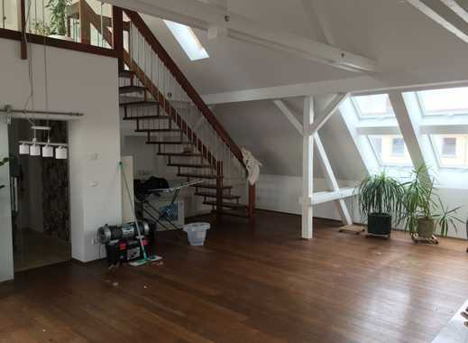 Hochwertige Maissonette-Wohnung mit Kamin | Garage | EBK | Dachterrasse