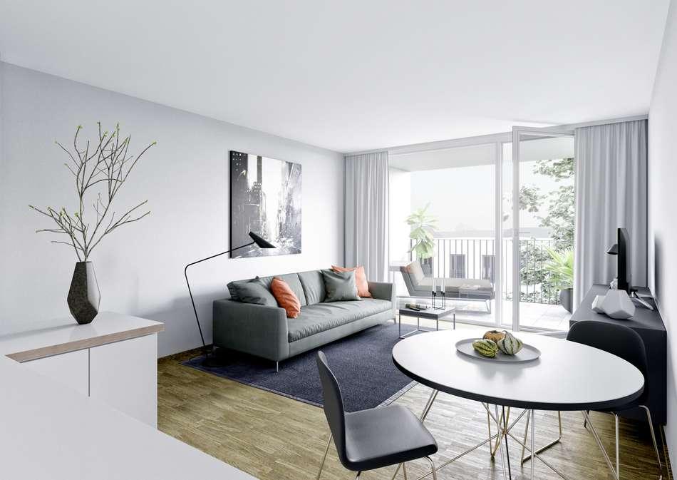 Wohnzimmer Animation