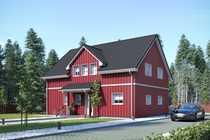Schwedenhaus am Stadtrand von Gifhorn