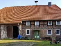 Reserviert Resthof mit Wohnhaus Scheune