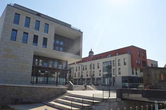 Quartier am Leinebogen - Die Verbindung zur Innenstadt