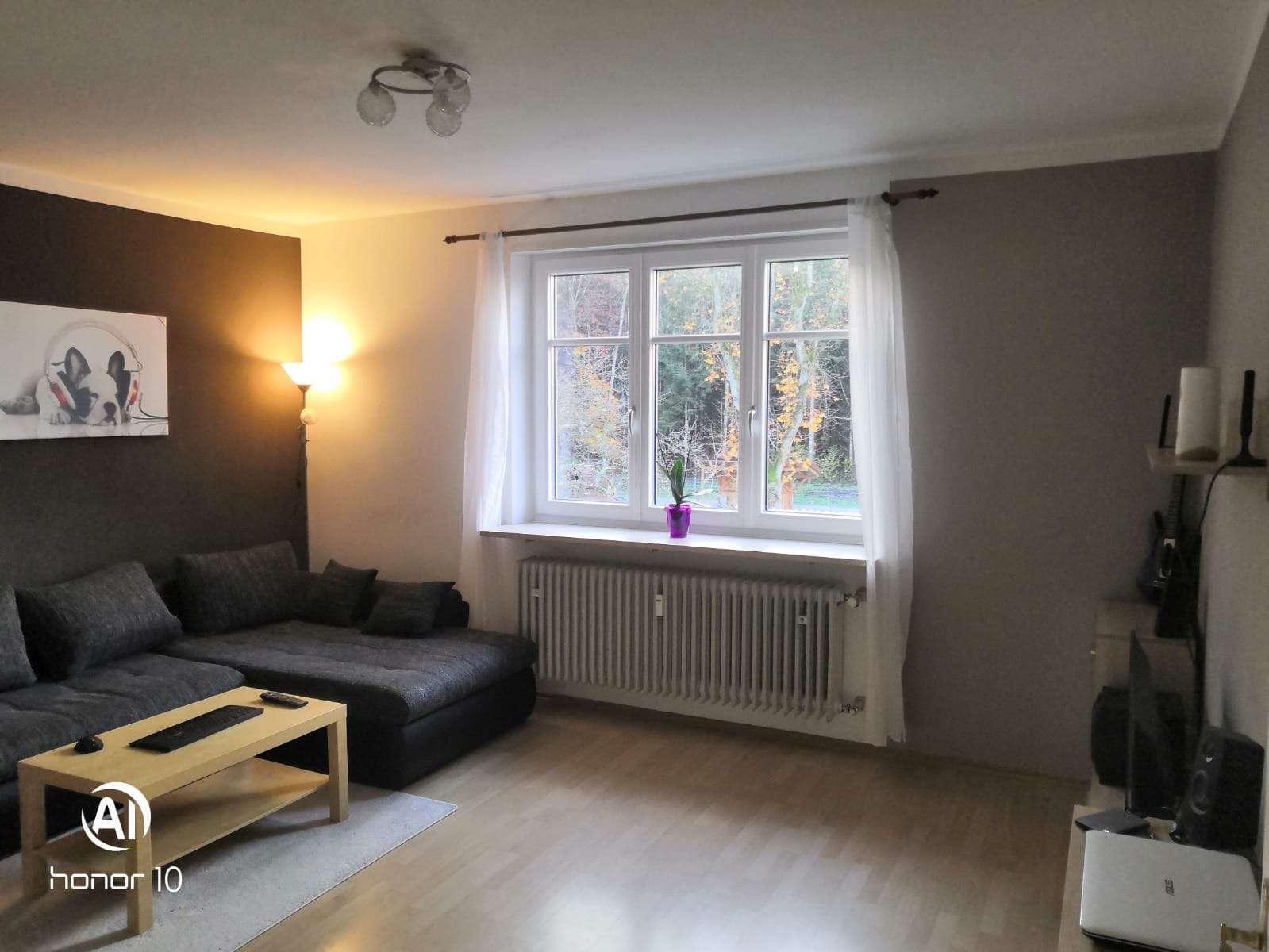 Sehr helle und freundliche 3,5-Zimmer-Wohnung zu vermieten in Brunnen