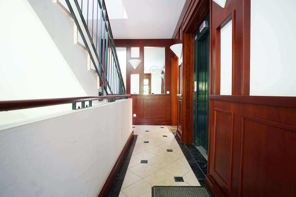 Eingangsbereich, Fahrstuhl