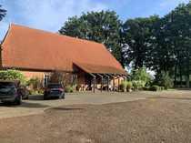 Stilvoller restaurierter Niedersachsenhof Resthof im