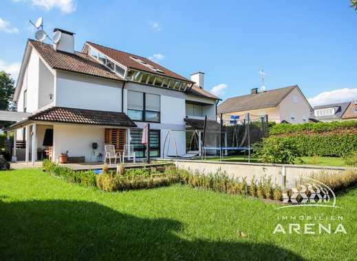 Göggingen-Bergheim - Großzügige, sanierte DHH in ruhiger Lage, großer Garten, Doppelgarage