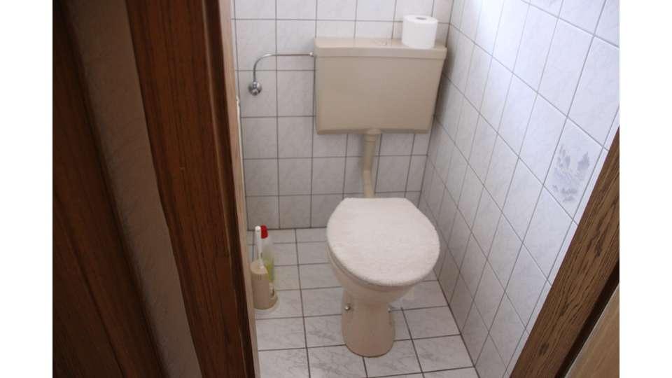 WC im Haupthaus Erdgeschoss