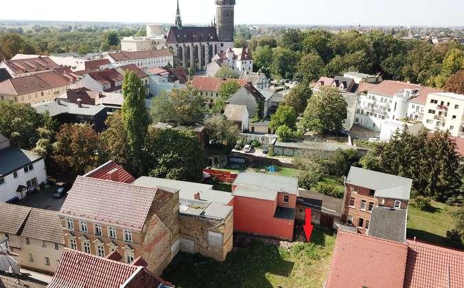 Ansicht mit Lutherkirche