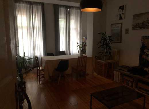 Vollmöbliertes WG-Zimmer im Altbau auf Schönebergs Kulturkiez Rote Insel