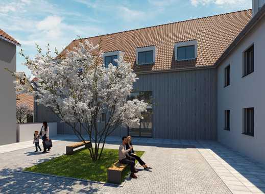 Besonders wohnen - Idyllische 3 Zimmer Neubauwohnung mit Loggia