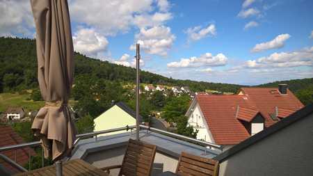 Ruhige Lage, tolle Aussicht, Stadt nah in Gailbach (Aschaffenburg)