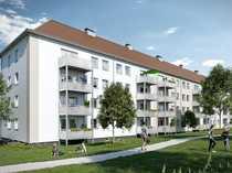 Großzügige 4-Zimmer-Erdgeschosswohnung mit Balkon in