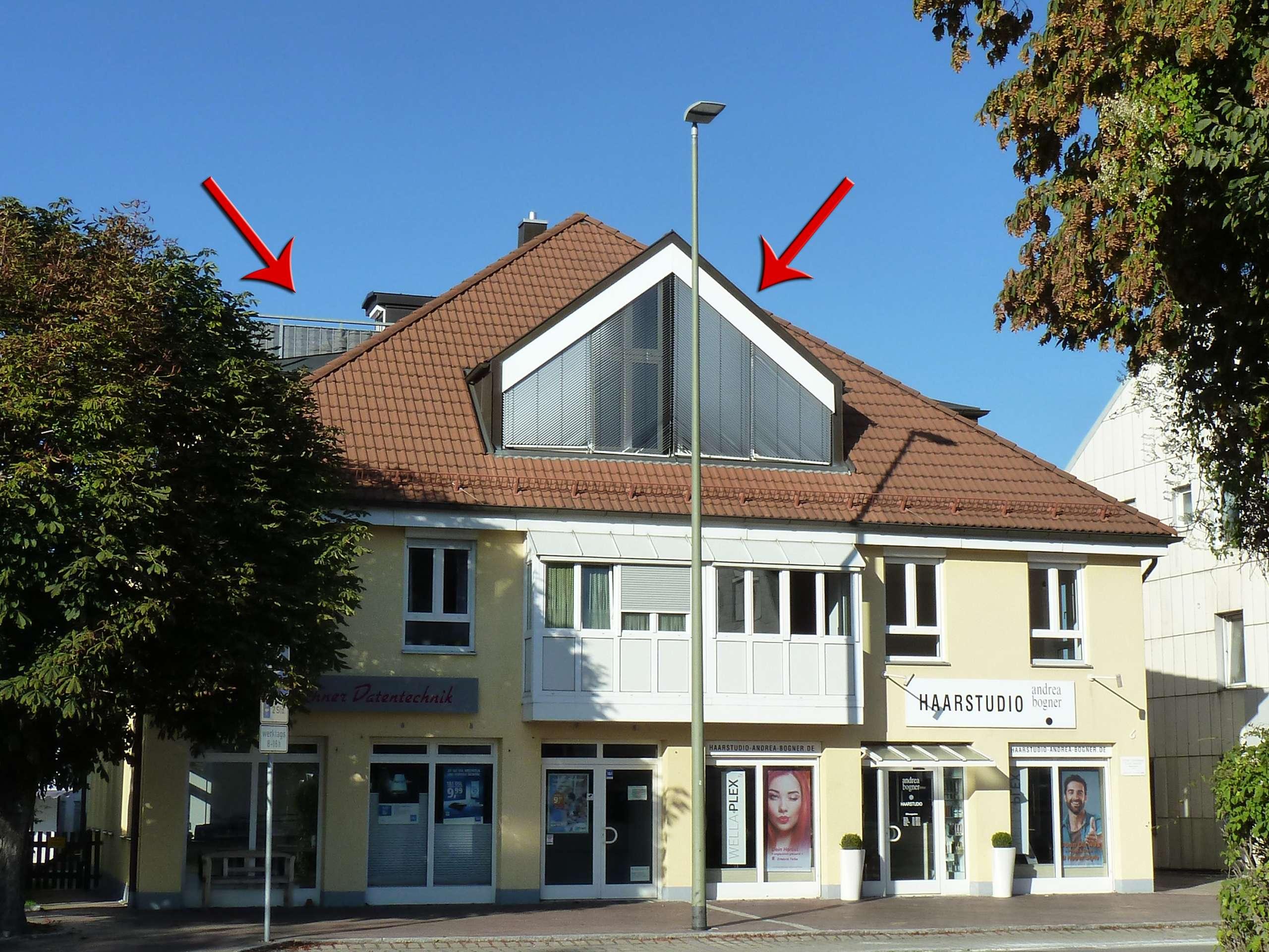TRAUMhafte Maisonette-Wohnung - WOHNEN auf ZWEI Ebenen! Total ZENTRAL! in Buchloe