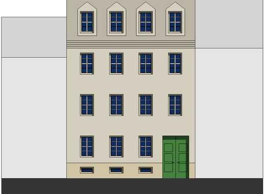 Aufwendig modernisiertes Wohn+Büro+Geschäftshaus von1755, mittendrin in Mitte, bezugsfrei