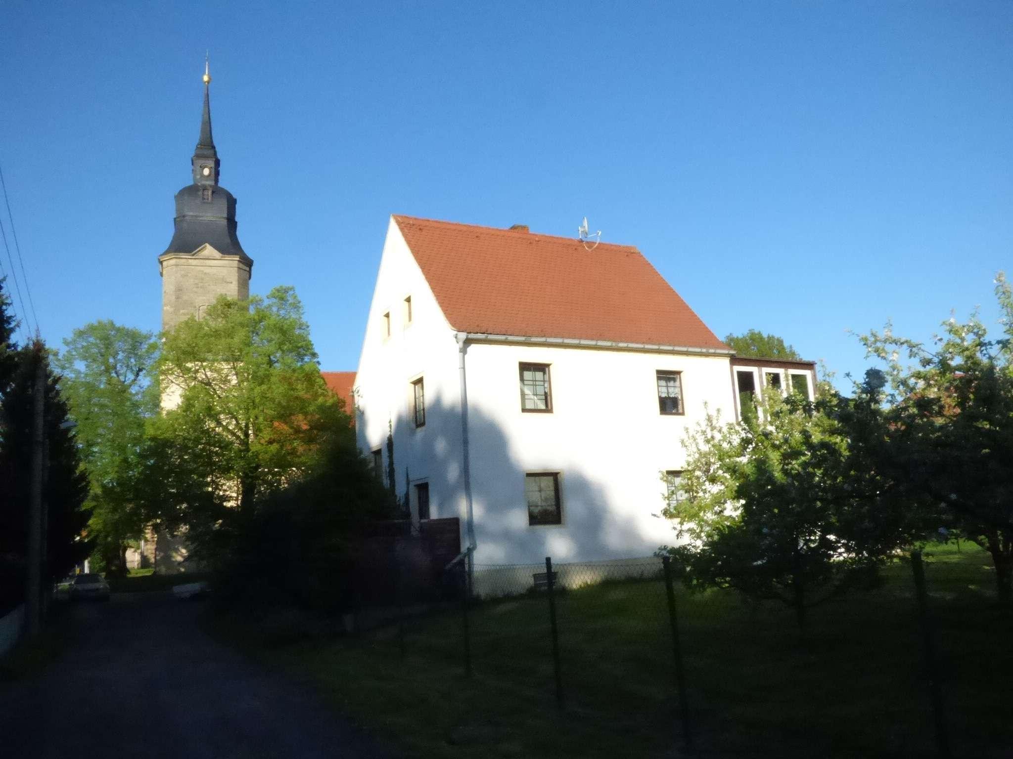 Riesa – Jahnishausen, charmantes Anwesen in traumhafter Lage - Haus zum Kauf in Riesa