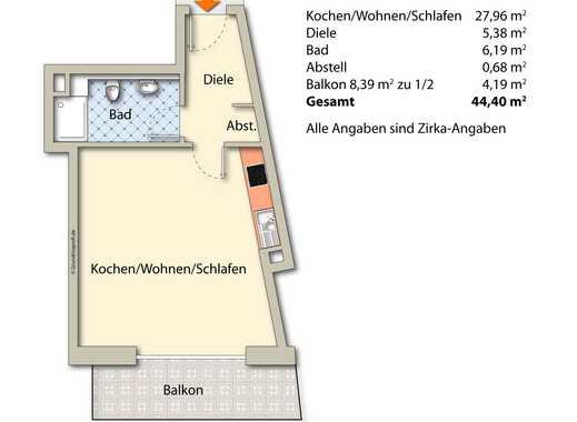 Erstbezug: Barrierefreie Neubauwohnung in Viersen, 2. Obergeschoß mitte