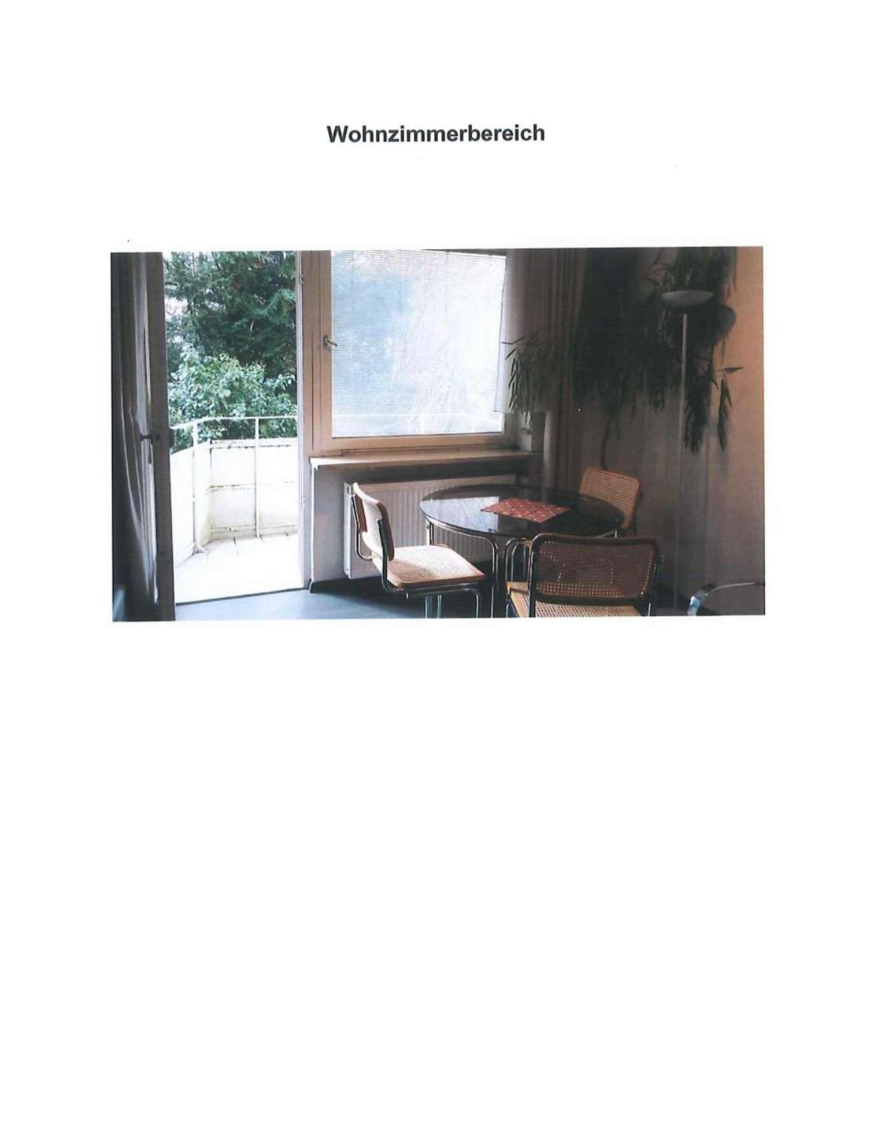 möblierte 1-Zimmer-Erdgeschosswohnung mit Balkon und Einbauküche in Bad Reichenhall