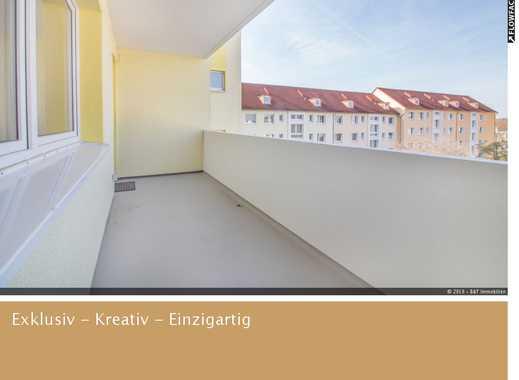 Kernsaniert mit Blick über Hannover und 9 qm Balkon