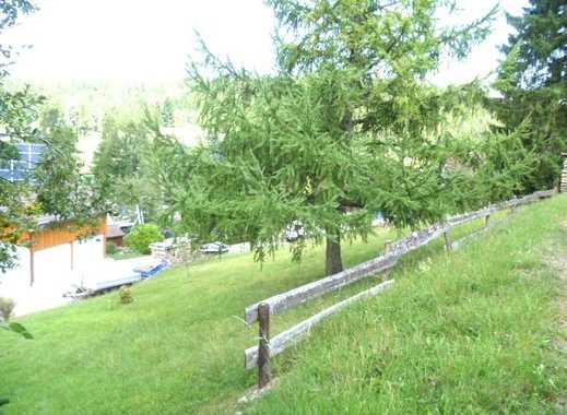 Erschlossenes Grundstück für Ein- oder Mehrfamilienhaus mit Fernsicht