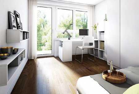 Neubau, möbliertes Studentenappartement mit Balkon in Herrenbach (Augsburg)
