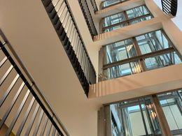 Treppenhaus-gläserne Lifts
