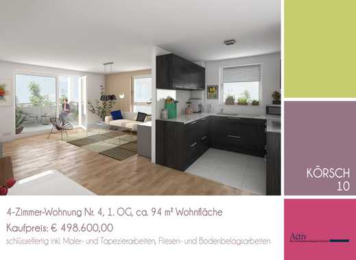 Moderne und familienfreundliche 4-Zimmer-Wohnung