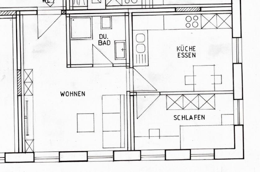NEUE zentrale 2 Zimmer Wohnung in Baiersdorf in Baiersdorf
