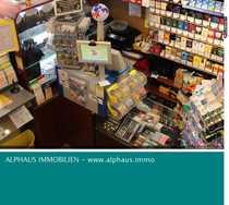 Kleiner Laden Lotto-Tabak-Presse in der