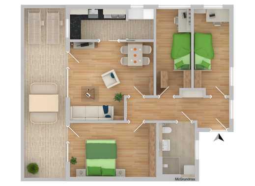 NEUBAU!!!! Betreutes Wohnen 4-Zimmer mit Terrasse (D20)