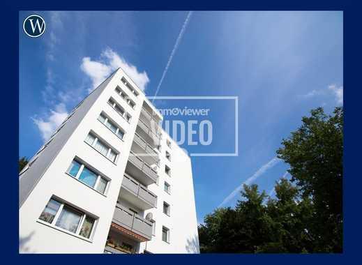 °°Mit Blick in den Himmel°° renovierte 3 Zimmer im 7. OG + Aufzug + Balkon + extra WC + Laminat