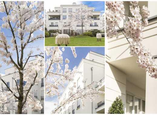 Neubau Erstbezug, sonnige 3 Zimmer Wohnung mit EBK, Balkon, Concierge, Spa, Fitness