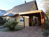 Neuwertiges Energiesparhaus mit