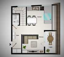 Sehr geräumige 63 m² Maisonette-Wohnung