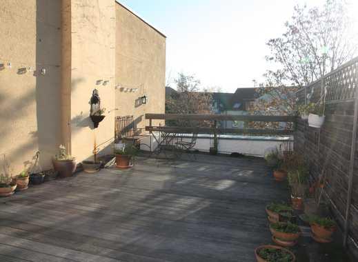 Eine Seltenheit! Dachterrassenwohnung (Maisonette) mit Wintergarten über den Dächern von Ehrenfeld