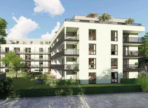 Eleganz & Komfort in heller 2-Zimmer Wohnung mit großzügiger Terrasse und Privatgarten