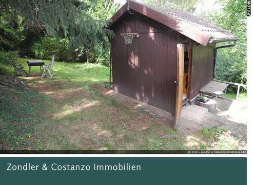 * Schöner Garten (600qm) + Haus mit Terrasse  + WASSERANSCHLUSS + Obstbäume + tolle Lage *