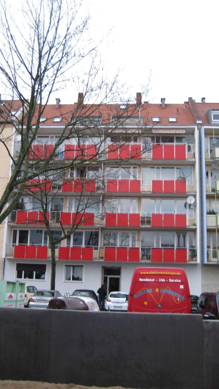 3 Zimmerwohnung in zentraler Lage mit Balkon Nürnberg