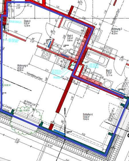Erstbezug: ansprechende 2-Zimmer-Wohnung mit EBK in Bayreuth in City (Bayreuth)