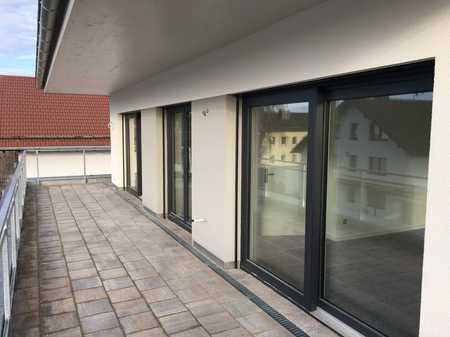 NEUBAU-Erstbezug Penthouse-Wohnung mit Dachterrasse in Waldperlach in Perlach (München)