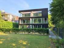 Ruhige moderne Neubauwohnung mit Garten